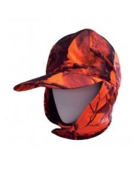 Tecl Kαπέλο Aδιάβροχο & Διάπνεον Πορτοκαλί Παραλλαγής Με Αυτιά