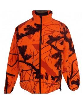 Aetos A3 Αντιανεμική Ζακέτα Fleece Camo Orange