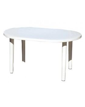 Τραπέζι Οβαλ 140x85x71cm