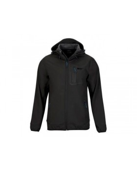 Berg Softshell Hoodie Jacket Black
