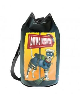 Blue Hunder-Τσάντα Diving Πλάτης Instructor
