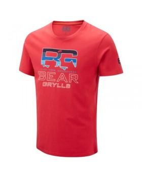 Crasshoppers-T-Shirt Parachute  Red