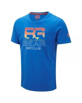 Crasshoppers-T-Shirt Parachute  Blue