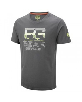 Crasshoppers-T-Shirt Parachute  Grey