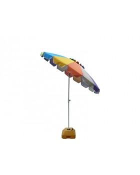 Ομπρέλα Βεράντας-Θαλάσσης 2,2m Πολύχρωμη