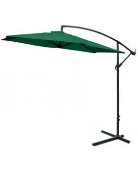 Ομπρέλα Κήπου Αλουμινίου Ελλειπτική 3m  Πράσινη
