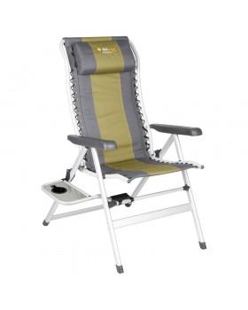 Καρέκλα Πτυσσόμενη Cascade 8 Position Deluxe Με Τραπεζάκι