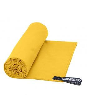 Cressi Πετσέτα Fast Drying Microfibre 100 x 50 (Κίτρινο)
