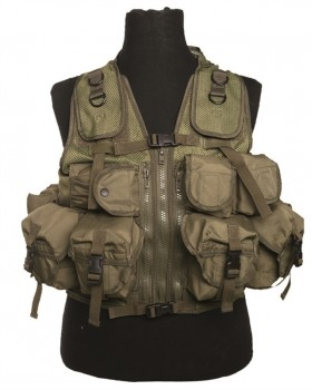 Mil-Tec-Γιλέκο Μάχης  Ultimate Assault Vest Army