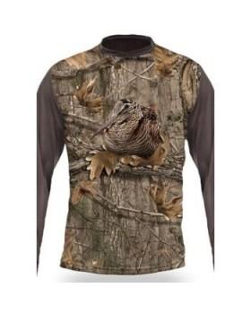 T-Shirt Μακρύ Μπεκάτσα 3D