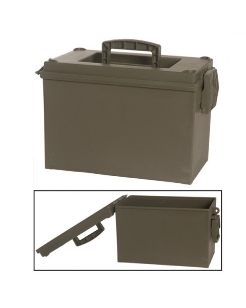 Mil-Tec Πλαστικό Στεγανό Κουτί Αποθήκευσης Πυρομαχικών - Φαρμάκων - Εξοπλισμού