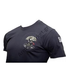 Μπλουζάκι Κέντημα Ο.Υ.Κ Καρχαρίας Φαιοπράσινο GF