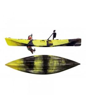 Ψαράδικο κανό για 1 άτομο με πετάλια και προπέλα της Kings Kraft