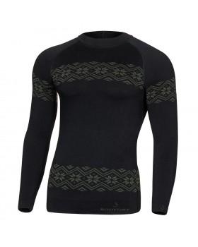 Τεχνική Ισοθερμική Μπλούζα Body Dry Royal Sport LS Black