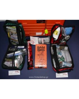 Custom Φαρμακείο Α' Βοηθειών Σκάφους Πολυτελείας ή Ιστιοπλοϊκού Ανοιχτής Θάλασσας
