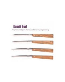 Οpinel-Νο125 Esprit Sud  Επιτραπέζια Μαχαίρια-Ξύλο Ελιάς (4 Τεμ.)