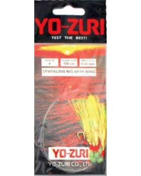 Τσαπαρί Yozuri Sparkling Rig With Wing Y126