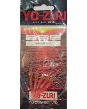 Τσαπαρί Yozuri Shrimp Rig Pink Y142