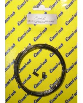 Cressi Sub - Ρακετόνημα 5 Μέτρα black
