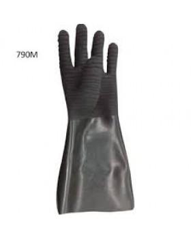 Γάντια Οξέων Dispan Με Τριπλή Στρώση Καουτσούκ 790M
