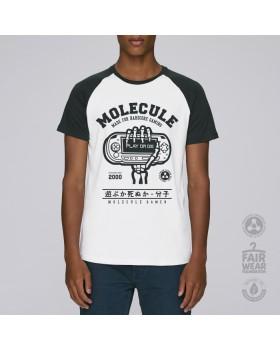Molecule T-Shirt Mlc Play Or Die Baseball(White/Black)