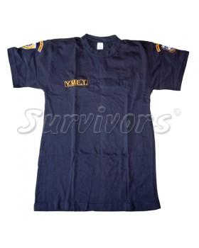 Μπλουζάκι μακό με κέντημα (Y.M.E.T.)