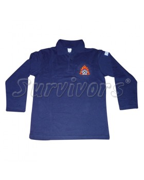 Survivors Μπλουζάκι ΠΟΛΟ μακρύ μανίκι με κέντημα Εθελοντών ΕΜΑΚ