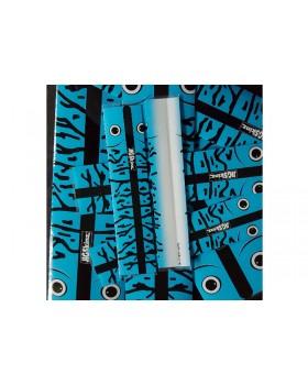 JigSkinz- Blue Glow Mackeler  180 X 60mm