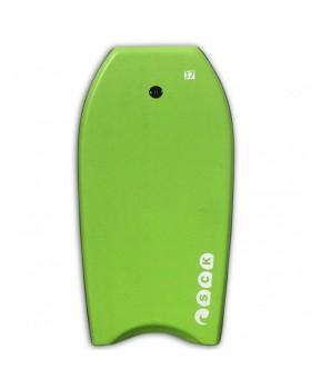 Bodyboard 37inch Πράσινο με leash καρπού SCK