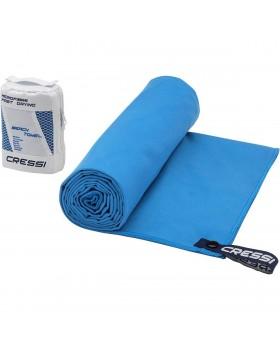 Cressi Πετσέτα Fast Drying Microfible 160 x 80 (Ανοιχτό μπλε)