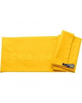 Cressi Πετσέτα Fast Drying Microfible 160 x 80 (Κίτρινο)