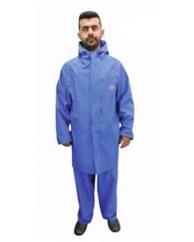 Σακάκι Μπλέ Αδιάβροχο Dispan Κατάλληλο Για Επεξεργασία Τροφίμων 17S Blue