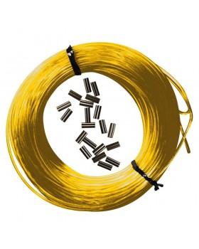 Epsealon Κιτ Κίτρινη Πετονιά 25m + Δικανάκια 185mm