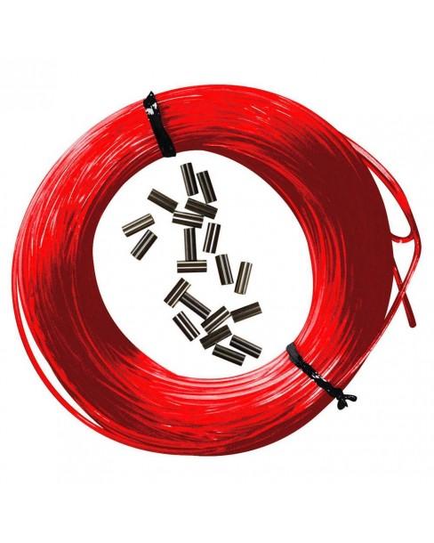 Epsealon Κιτ Κόκκινη Πετονιά 25m + Δικανάκια 165mm