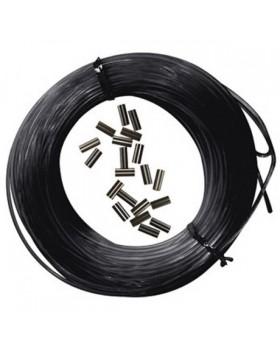 Epsealon Κιτ Μαύρη Πετονιά 25m + Δικανάκια 185mm