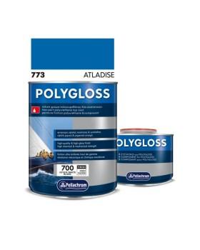 Pollygloss 773 Atladise A+B 750ml Χρώμα Πλυουρεθάνης  Μπλε