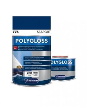 Pollygloss 775 SeaPort A+B 750ml Χρώμα Πλυουρεθάνης  Μπλε