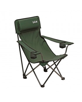 Foldable chair with padded back Dam 8470-007