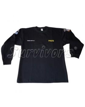 Survivors- Φούτερ βαμβακερό 100% με κέντημα (Ειδικοί Φρουροί)