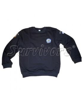 Survivors- Φούτερ βαμβακερό 100% με λάστιχο & κέντημα (Αστυνομίας)