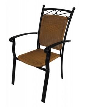 Καρέκλα Malaga Αλουμίνιο / Rattan