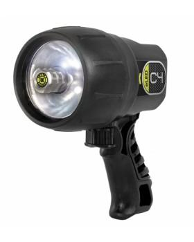 C4 Υποβρύχιος Φακός LED Black