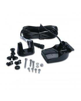 Garmin Transom Mount Transducer with Depth & Temperature (Dual Beam)