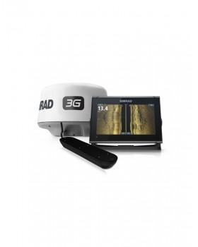 Simrad GO12 XSE 3G RADAR ACTV-IMAG-3IN1 ROW