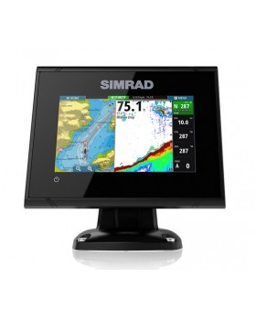 Simrad GO5 XSE with HDI Skimmer 455/800 transducer