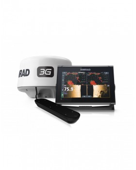Simrad GO9 XSE ACTV-IMAG-3IN1 3G BUNDLE ROW