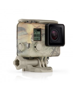 GoPro Camo Housing + QuickClip (Realtree Xtra)