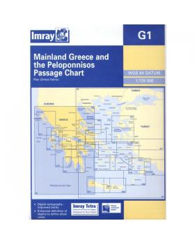 Ναυτικοί Χάρτες Imray Για Δυτική Κρήτη