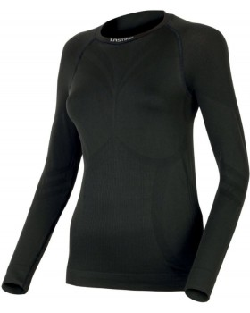 Lasting-Ισοθερμική Μπλούζα Γυναικεία Atala Seamless Black