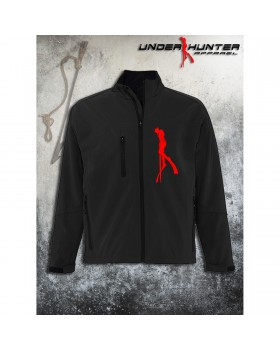 Μπουφάν Uh 045 Black Jacket